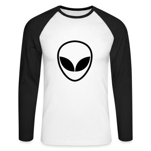Alien-Alarm - Männer Baseballshirt langarm