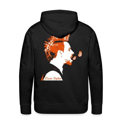 Iroquois - Minute Papillon - Sweat Capuche - Sweat-shirt à capuche Premium pour hommes