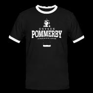 T-Shirts ~ Männer Kontrast-T-Shirt ~ Pommerby Ostsee (weiss)
