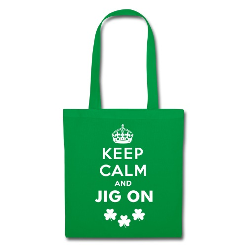 Keep Calm and Jig On Tote - Tote Bag