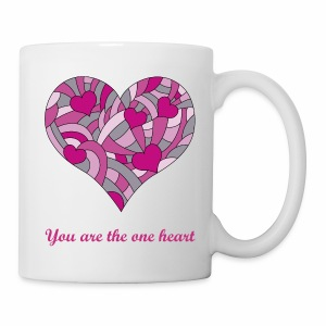 the one heart - Tasse