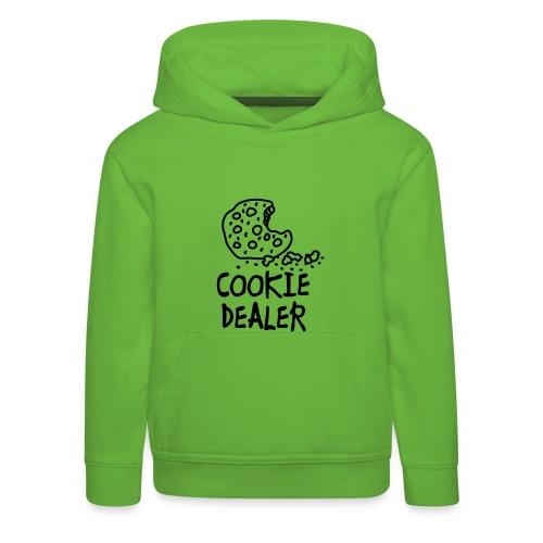 kids-sweater-cookie - Kinderen trui Premium met capuchon