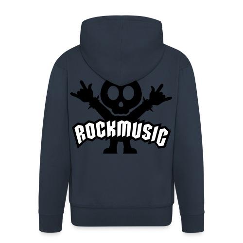 Rockmusic - Männer Premium Kapuzenjacke