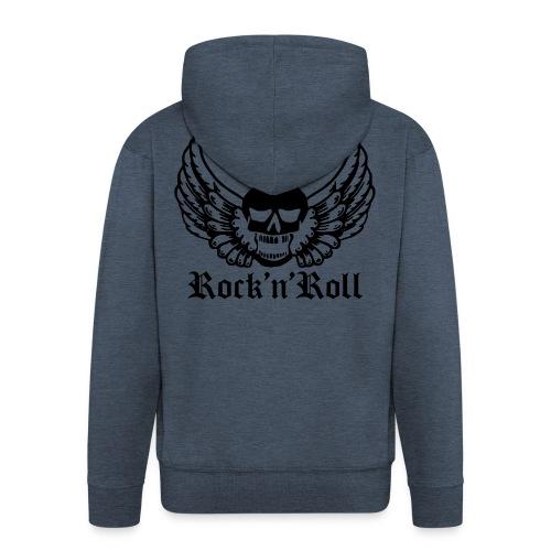 Rock Angel - Männer Premium Kapuzenjacke