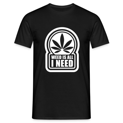 t-shirt Weed jane! - T-shirt Homme