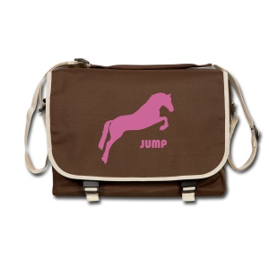 Pink Glitter Jumping Horse Bag - Shoulder Bag