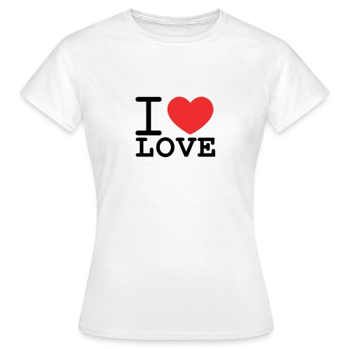 I ♥ LOVE - Maglietta da donna