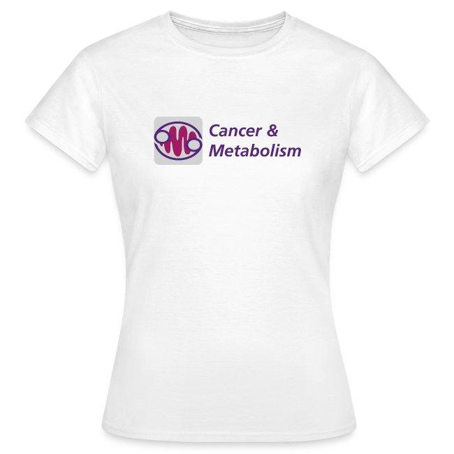 Cancer & Metabolism women's t-shirt