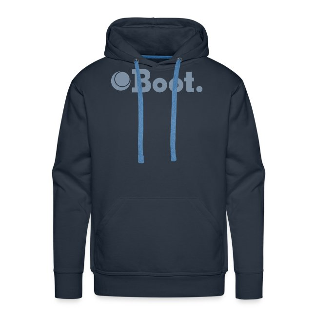 Blue with matte silver logo - Click to choose colour