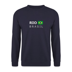 Men's Pullover RIO BRASIL white-lettered - Men's Sweatshirt