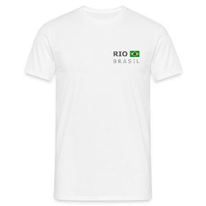 Classic T-Shirt RIO BRASIL dark-lettered - Men's T-Shirt