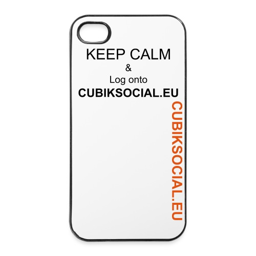 CubikCase iPhone 4/4s - iPhone 4/4s Hard Case