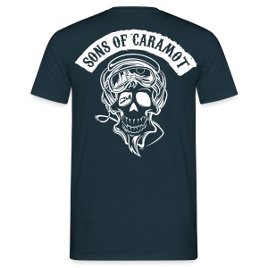 Tee shirt Homme Sons of Caramot Bleu - T-shirt Homme