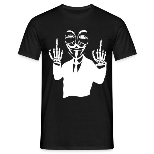 T-Shirt de l'activiste Anonymous - T-shirt Homme