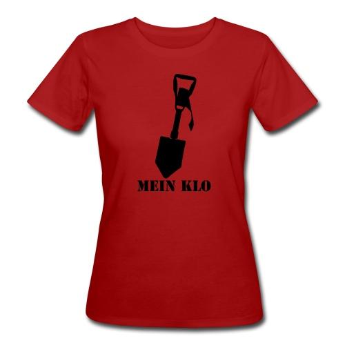 Mein Klo - Frauen Bio-T-Shirt