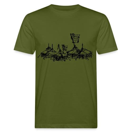Mein Dorf - Männer Bio-T-Shirt