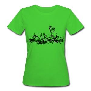 Mein Dorf - Frauen Bio-T-Shirt