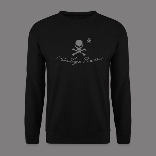 Classic Motorcycle Sweater Black - Sweat-shirt Homme