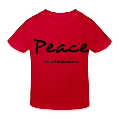 Organic Child's Shirt Peace - Kids' Organic T-Shirt