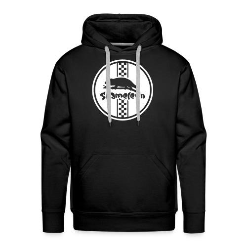 Logo Pullover schwarz - Männer Premium Hoodie