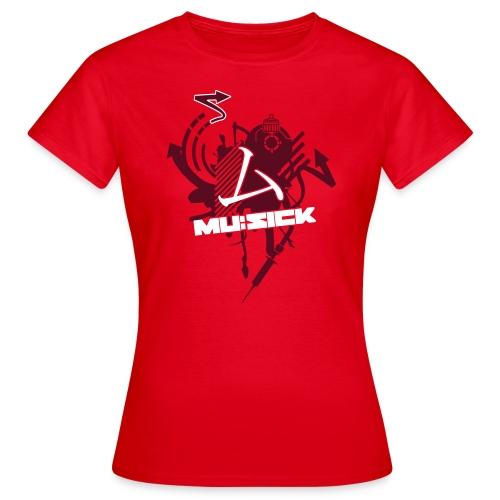 mu:sick splat - Frauen T-Shirt