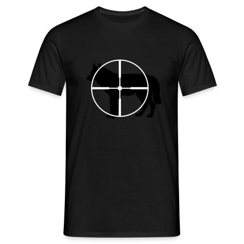 Wolf - T-shirt herr