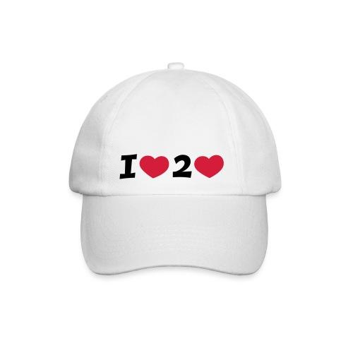I LOVE TO LOVE Cap - Baseballkappe
