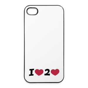 I LOVE TO LOVE Phone Cover - iPhone 4/4s Hard Case