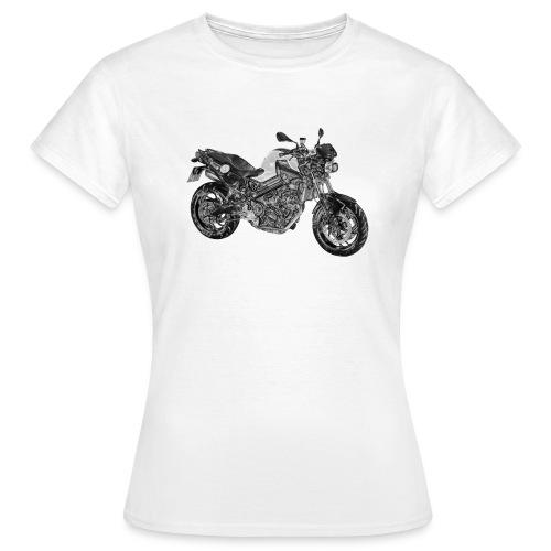 BMW F800R Folie + Nick - Frauen T-Shirt