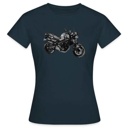 BMW F800R Buntstift + Nick - Frauen T-Shirt