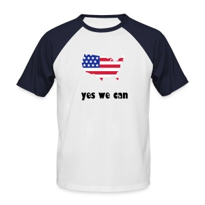 usa - T-shirt baseball manches courtes Homme