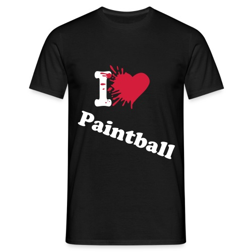 I love Paintball - T-shirt Homme