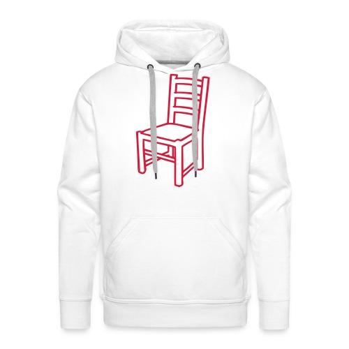 Une Chaise pour homme -Sweat- - Sweat-shirt à capuche Premium pour hommes