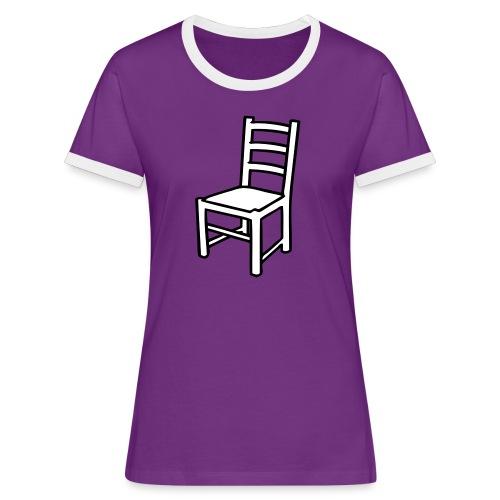 Une Chaise pour femme - T-shirt contrasté Femme