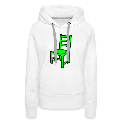 Une Chaise pour femme -Sweat- - Sweat-shirt à capuche Premium pour femmes