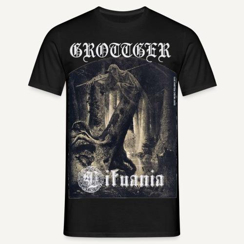 Grotter - Lituania - Koszulka męska