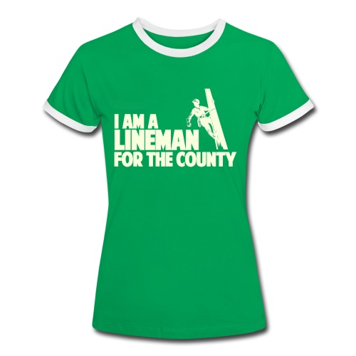 Lineman for the County - Women's Ringer T-Shirt