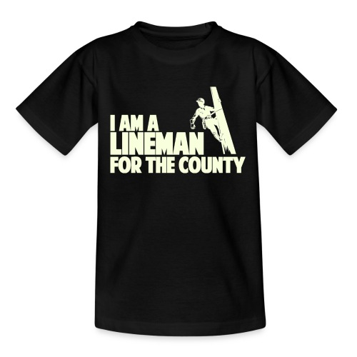 Lineman for the County - Kids' T-Shirt