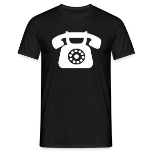 Telephone - B&C Shirt - Men - Männer T-Shirt