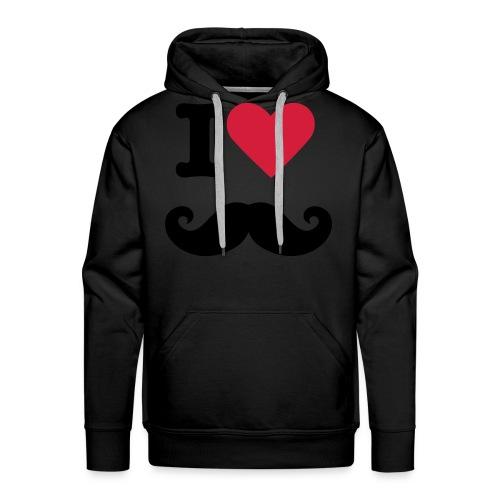 I LOVE SNORREN :D - Mannen Premium hoodie