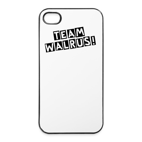 team walrus 4/4s cover - iPhone 4/4s Hard Case