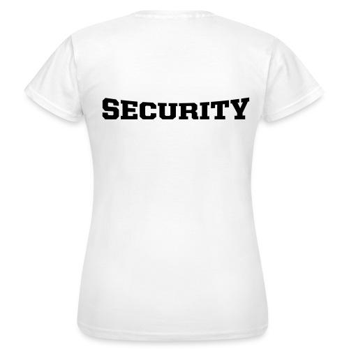 maglietta security donna - Maglietta da donna