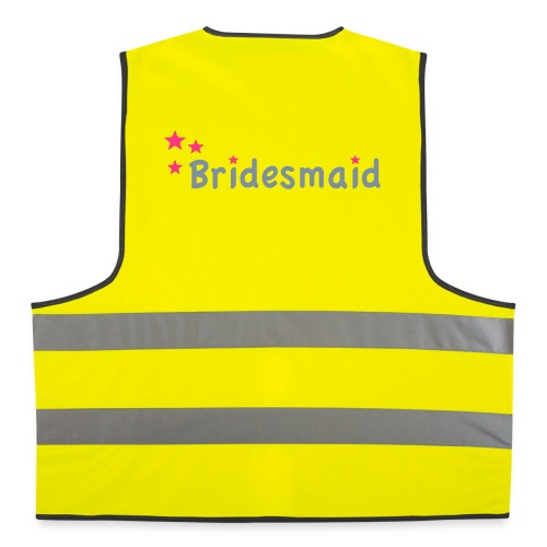 Bridesmaid Vest - Reflective Vest