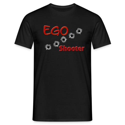 Ego Shooter  - Men's T-Shirt