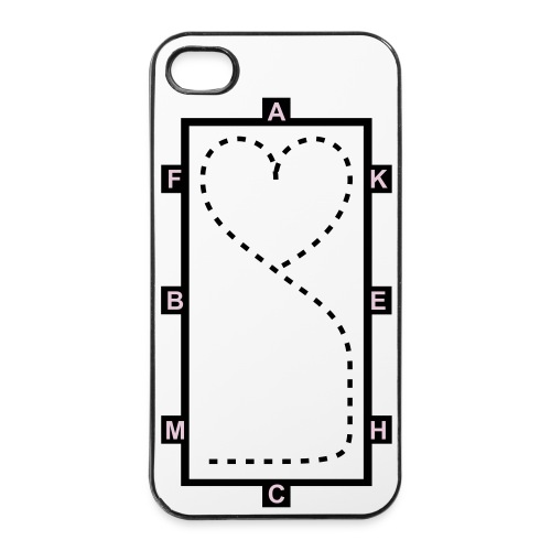 Dressage Theme IPhone 4 Case. - iPhone 4/4s Hard Case