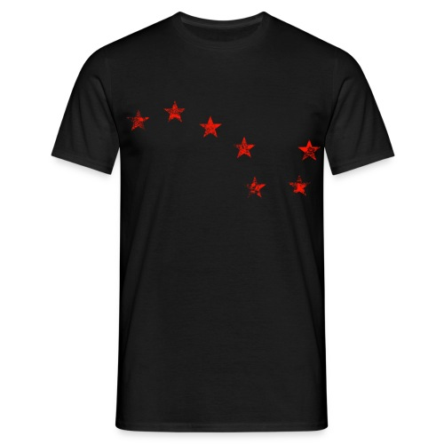Starry Plough Red - Men's T-Shirt
