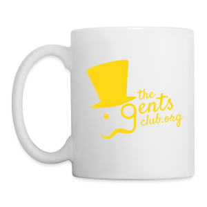 TGC Mug - Gold on White - Mug