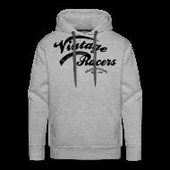 Sweat-shirts ~ Sweat-shirt à capuche Premium pour hommes ~ VR MC Grey Hoodie