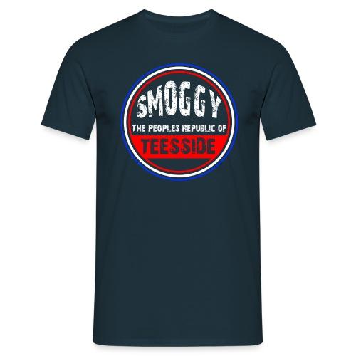 Smoggy PRT - Navy - Men's T-Shirt