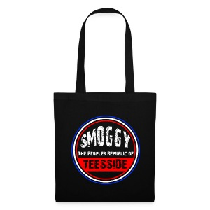 Smoggy Tote Bag - Black - Tote Bag